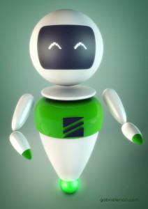 Zani 3D Robot - design del personaggio